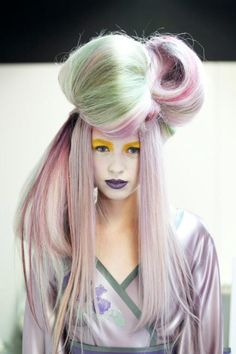 Pablo Latorre made this beatufull photos for Fusion:trend vision 2013 by Wella
