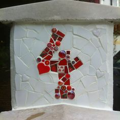 Number 4 Mosaic by Mosaic Artist: Nina Perry (I LOVE this mosaic!!!)