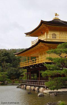 El pabellón de oro de Kinkaku-ji,