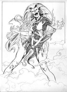 Silver Banshee by http://pifalo.deviantart.com/