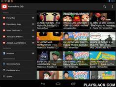 Fernanfloo  Android App - playslack.com , la aplicación de avisa cuando Fernanfloo Sube un vídeo,característicaspose dos temas (Blanco y Negro):y pose una buena visualización en los dispositivos moviles...