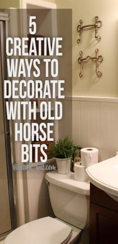 5 Ways to Bring Equestrian Style to your Home with Repurposed Horse Bits - Hawk Hill