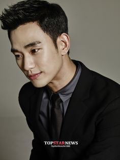 Kim Soo Hyun for Cuckoo Electronics My Love From The Star, Haircuts For Men, Men Hairstyles, Hair Dos, Men's Hair, Cute Faces, Up Styles, Korean Actors, Hair Inspiration