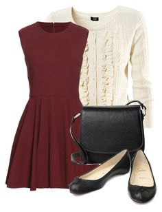 """Untitled #672"" by dd-christina on Polyvore featuring H&M, Alexander McQueen, Brooks Brothers and Christian Louboutin"