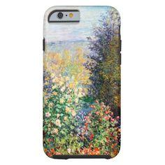 Monet Montegron Garden Case-Mate iPhone Case Iphone Phone Cases, Iphone 6, Ipad Case, 6 Case, New Phones, Artwork Design, Monet, Apple Iphone, Retro Vintage