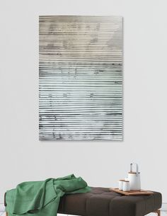 Discover «Abstract yellow mint», Limited Edition Aluminum Print by Ulug Doschan - From $65 - Curioos