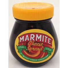 Marmite Cheese Spread 175g Marmite, Cheese Spread, Nutella, Jars, Mustard, Desserts, Food, Tailgate Desserts, Pots