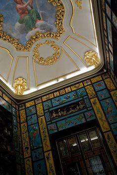 Madrid Palace interior detail