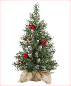 2' Santa Claus Tabletop Tree Prelit