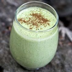 Fat-Burner -- Cinnamon Apple Smoothie //  Ingredients  1 apple, chopped 3/4 inch slice tofu (1/4 block) 1/4 cup unsweetened apple juice 3/4 cup unsweetened soy milk (**or milk alternative) 1 cup raw spinach 1/2 tsp. cinnamon Directions  Place all ingredients in a blender and blend until smooth.