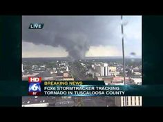 TORNADO CAUGHT LIVE in Tuscaloosa, AL April 27, 2011 (Original)