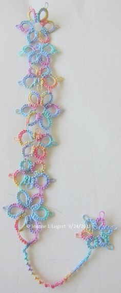 LadyTats Lace: Pattern posted
