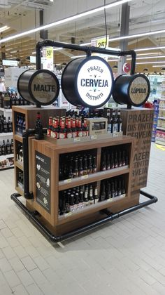 Development of displays for the craft beer category on POS.There are many types of craft beer, from Lager to Pale Ale, so the main purpose of the display line was to organize and distinguish them, describe the ingredients and its relation to food.All ma…