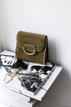 LITTLE SUEDE BAG