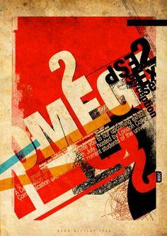 Posteres tipografico