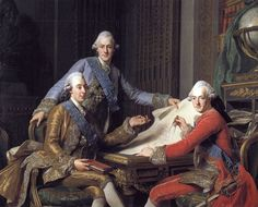 1771 Gustav III, King of Sweden, and his brothers - Alexander Roslin – Wikipedia