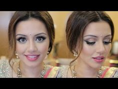Indian Wedding Get Ready With Me   Eid Makeup Look   Kaushal Beauty - YouTube