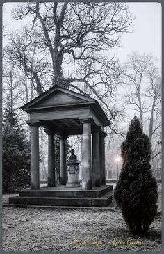 Kleines Dorisches Tempelchen im Schlossgarten