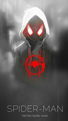 Miles Morales - Ultimate Spider-Man, Into the Spider-Verse Marvel Art, Marvel Dc Comics, Marvel Heroes, Anime Comics, Marvel Avengers, Black Spiderman, Spiderman Spider, Amazing Spiderman, Ultimate Spider Man