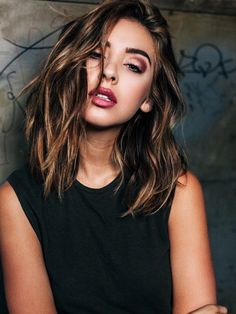 Hair Crush: Nadia Mejia's Textured Long Bob | Le Fashion…