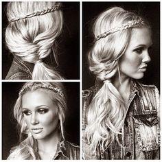 Super Cute Braid Hairstyle #Fashion #Beauty #Trusper #Tip