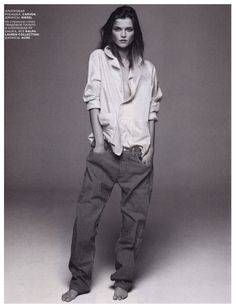 Baggy pants, masculine Style