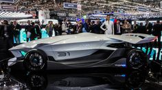 Driver optional in the windowless ED Torq race car | Italian design firm ED show off Torq, an autonomous car designed for the race track.