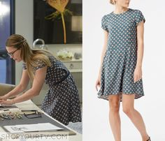 Supergirl: Season 1 Episode 5 Kara's Bird Print Dress