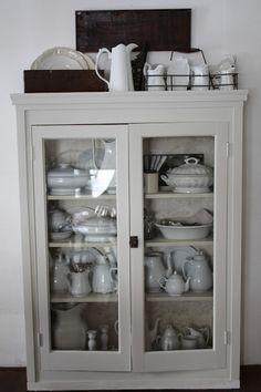 FARMHOUSE 5540: Ironstone Cabinet