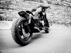 """MAGNUS""  PVReCreation Builder: Brian Moon  Muscle Fighter Motorcycle: Custom 1984 Honda V65 Magna VF1100C"