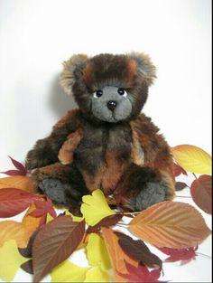 Herbstbär, 30 cm,  Plüsch