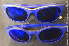 Inspiriert von Yves Klein: KLEIN SUN Brillen von Etnia Barcelona gibt es bei der Augenweide Optik