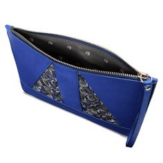 Baracoa Zip Clutch Blue on TROVEA.COM
