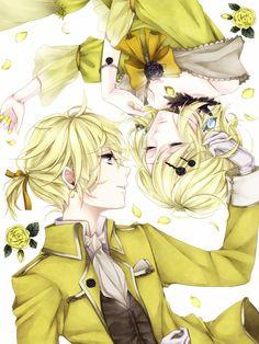 Len x Rin (Vocaloid)servant of evil All Anime, Anime Love, Manga Anime, Anime Art, Len Y Rin, Kagamine Rin And Len, Servant Of Evil, Kaai Yuki, Vocaloid Characters