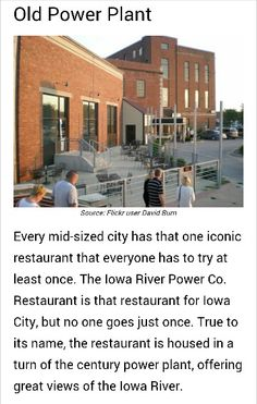 Things to do in iowa city