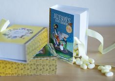 Mother Goose Favors Nursery Rhymes Candy Boxes in by nickeldesign, $90.00