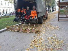 Новые технологии уборки улиц