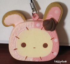 New Sentimental Circus Shappo Bunny Cookie Kawaii Squishy Phone Charm Strap | eBay