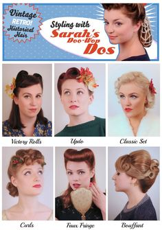 Hair by Sarah's Doo-Wop Dos www.doowopdos.co.uk – http://thepinuppodcast.com  re-pinned this because we are trying to make the pinup community a little bit better.