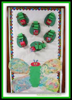 Oh my gosh..... this has the CUTEST Eric Carle art projects EVER!