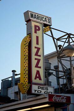 Maruca's Pizza -Seaside, NJ (Jersey Shore)- I wanna try the famous tomato pie