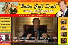 Breaking Bad: Saul Goodman's website