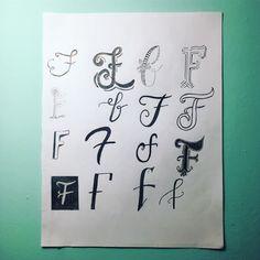 By @fullbrasscas Sharpie Art, F 16, Personal Development, Hand Lettering, Fonts, Letters, Life, Inspiration, Instagram