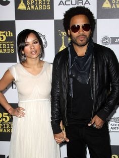 They awkwardly look like they could be dating, not father and daughter. It's Lenny's ageless face...