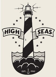 Lighthouse by damiankingart.com, via Flickr