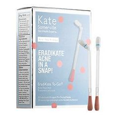 Natural Acne Remedies Shop Kate Somerville's EradiKate™ To-Go Acne Treatment at Sephora. The bestselling blemish banisher is now available in individually wrapped, pre-treated swabs. Cystic Acne Treatment, Back Acne Treatment, Acne Treatments, Sephora, Natural Acne Remedies, Acne Spots, How To Get Rid Of Acne, Acne Skin