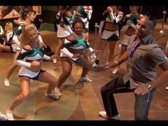 Cheer Extreme Senior Elite PreWorlds Getting Loose doing the YAE DANCE at 2:00 mark - YouTube