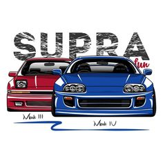 """214 Likes, 7 Comments - O.Markaryan (@oleg_markaryan) on Instagram: """"Toyota Supra Mark III & Mark IV double  t-shirt print. T-shirt , stickers and phone cases available…"""""""