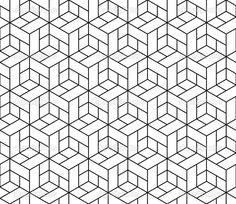 geometric cube design - Google Search