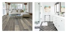 It can be hard to know what a Pet-Friendly floors are. Will they destory your beautiful new hardwood? Or rip up your expensive carpet. Best Flooring, Flooring Ideas, Black Interior Design, Wood Look Tile, Home Living Room, Tile Floor, Hardwood, Floors, House